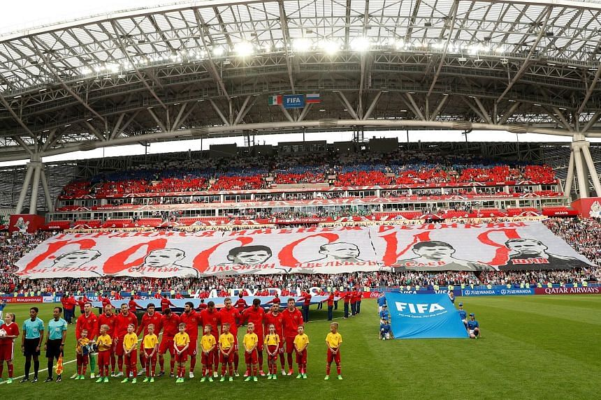 Russia, ranked 63rd in the world, will host the World Cup in less than a year but expectations among pundits of the team going far in the competition are low after a string of poor performances.