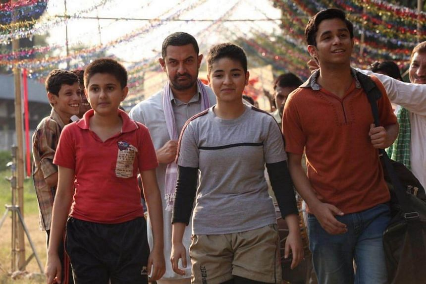 Cinema still from the movie Dangal.