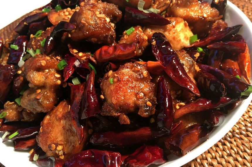Rustle up a taste of Sichuan cuisine with this dish of chilli chicken.