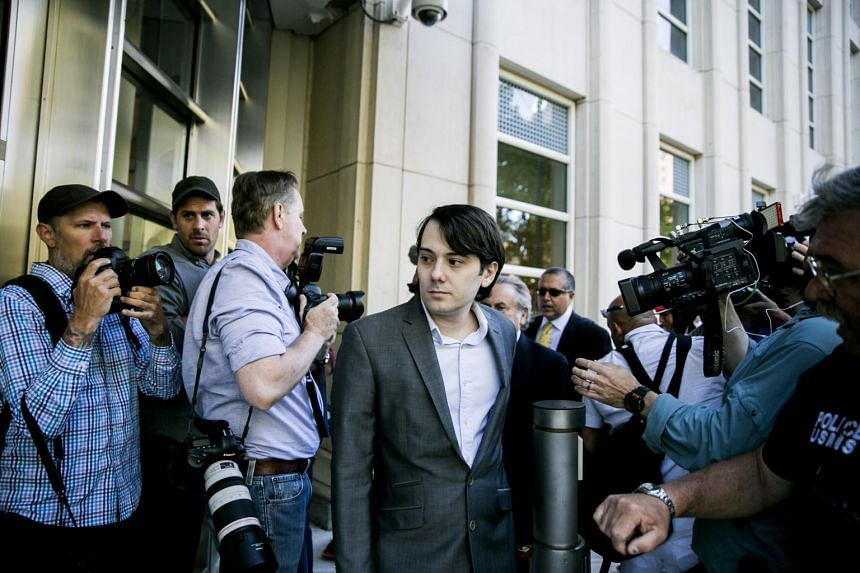 Martin Shkreli heads into federal court for the beginning of his trial for eight counts of securities and wire fraud.