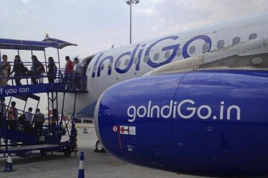 A file photo  of IndiGo planes on the tarmac. PHOTO: REUTERS
