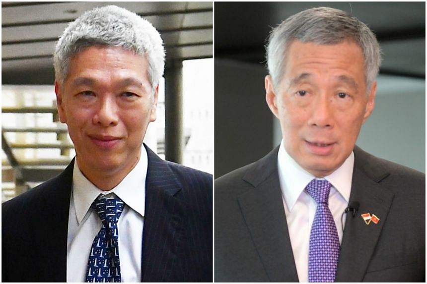 Mr Lee Hsien Yang (left) voiced his concerns about his elder brother Lee Hsien Loong delivering a ministerial statement in Parliament on July 3.