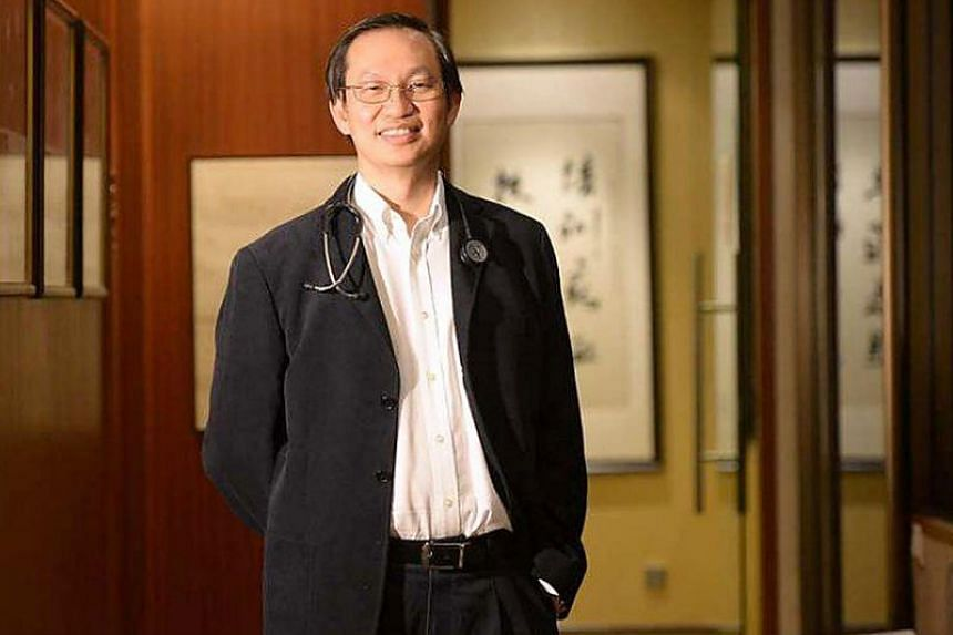TalkMed Group CEO Dr Ang Peng Tiam