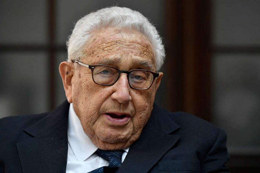 Kissinger (above) is in Russia for the Primakov Readings, an annual forum of experts, diplomats and politicians.