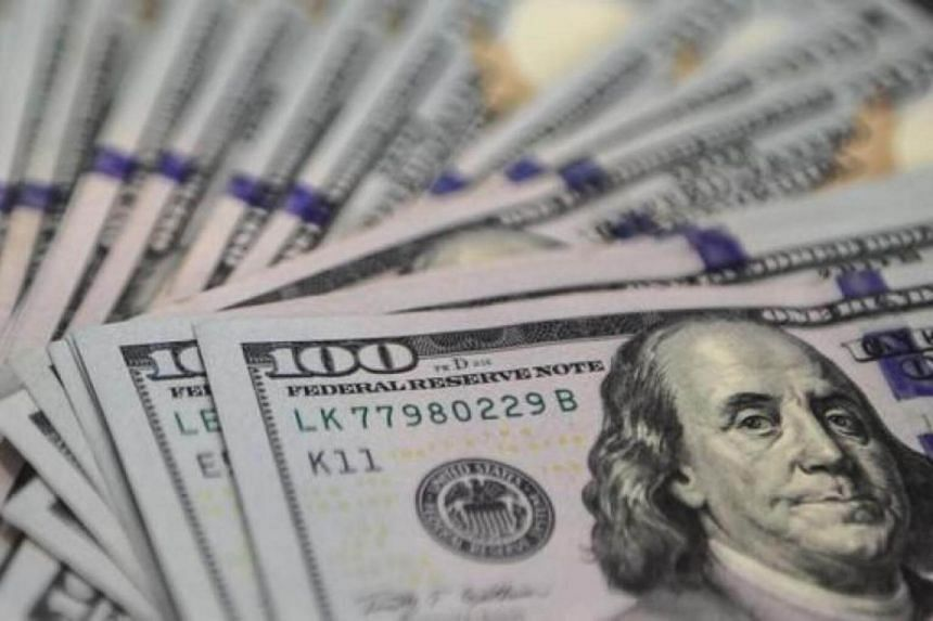As at 2 pm, the US dollar dipped to 1.3773 against the Singdollar, a level last seen in October 2016. This was a 0.2 per cent drop from its close on Thursday.