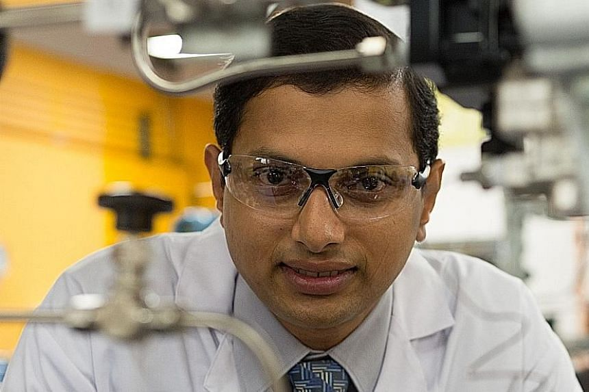 Prof Praveen Linga was given the Young Researcher Award in April.