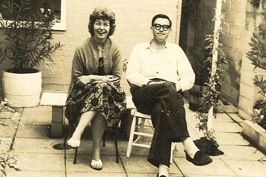 Mr Gerry Essery and his wife Jo became Singapore citizens in the 1970s. Though they both lived in Singapore before World War II, they met only later in South Africa. Below: The couple in their younger days.