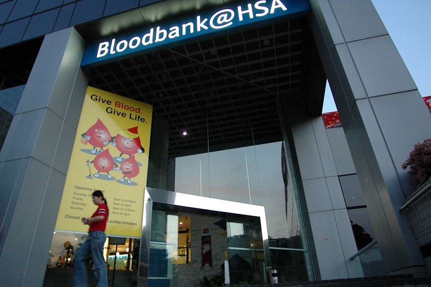 Facade of the Bloodbank@HSA.
