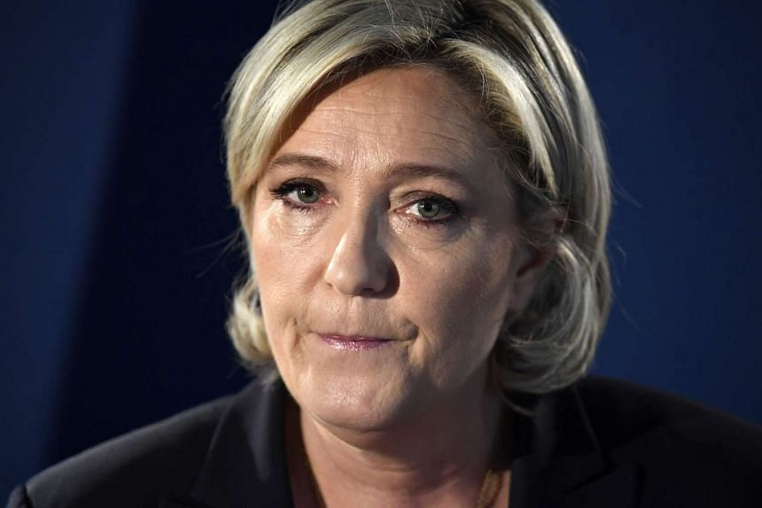 Le Pen (above) has been charged over claims her party illegally claimed millions of euros from the European Parliament.