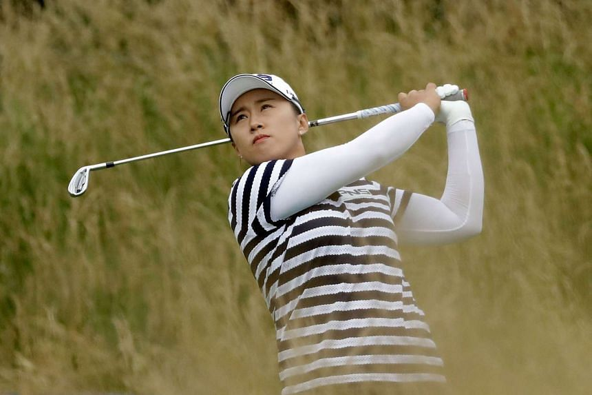Yang was among 30 players unable to complete the first round on Thursday when dangerous weather halted play.