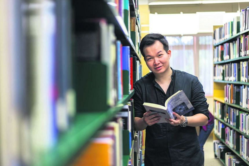 Mr Tan is realising his childhood dream of a lifelong study of English literature.