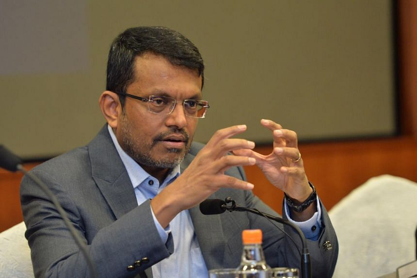 Ravi Menon, managing director of Monetary Authority of Singapore at the MAS Annual Report Media Conference, on July 25, 2016.