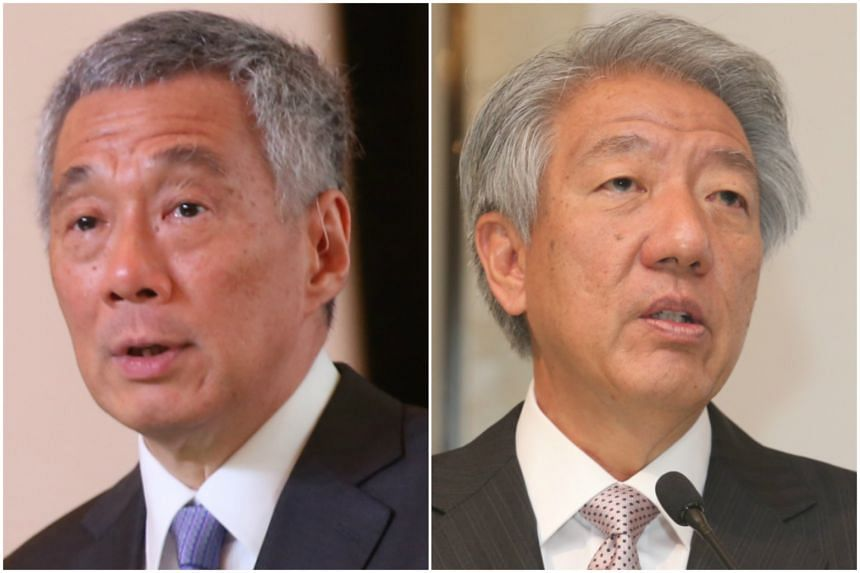 Prime Minister Lee Hsien Loong and Deputy Prime Minister Teo Chee Hean will speak in Parliament about the fate of the Oxley Road house on July 3, 2017.