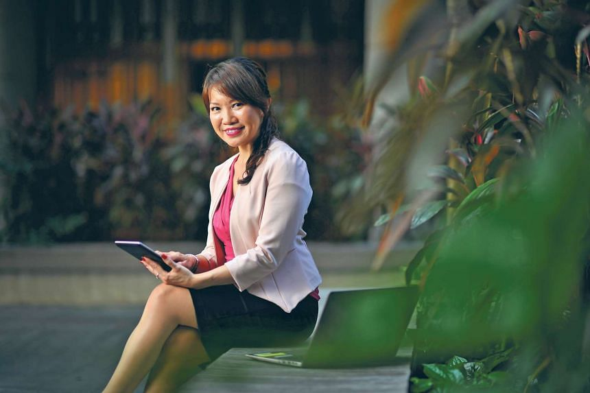 HR professional Ms Ong finds her IT course applicable to her workplace.