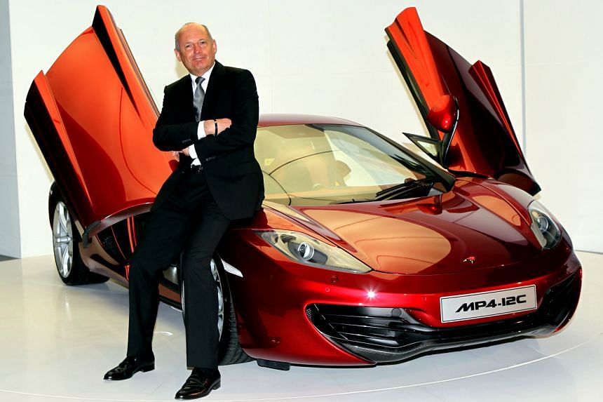 Ron Dennis will leave his chairman post and has sold a 25 per cent stake in the McLaren Technology Group.