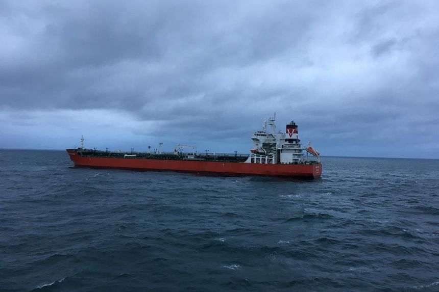 A tanker carrying 38,000 tonnes of petroleum products and a 220-metre (720-foot) cargo ship collided on July 1, 2017 in the waters between France and Britain.