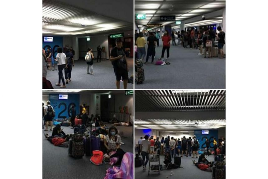 Scoot flight TZ297 had been scheduled to depart Bangkok's Don Mueang International Airport at 10.55pm Bangkok time on Friday (June 30) for Singapore.