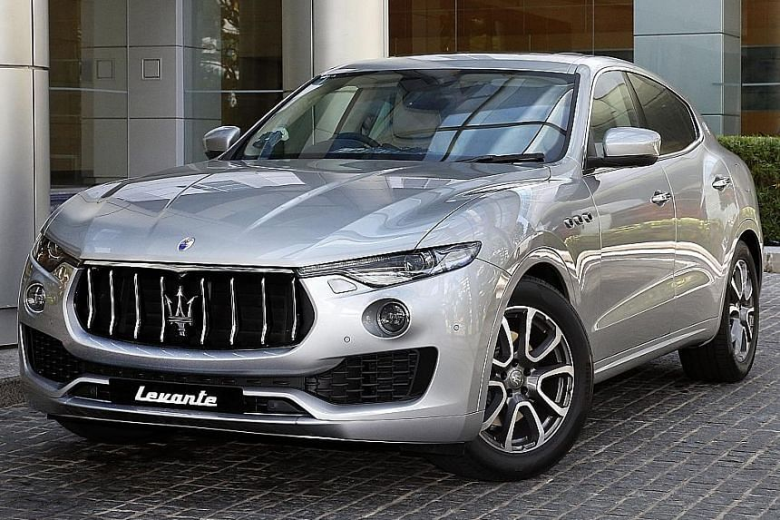 The Levante is Maserati's maiden foray into sport utility vehicles.