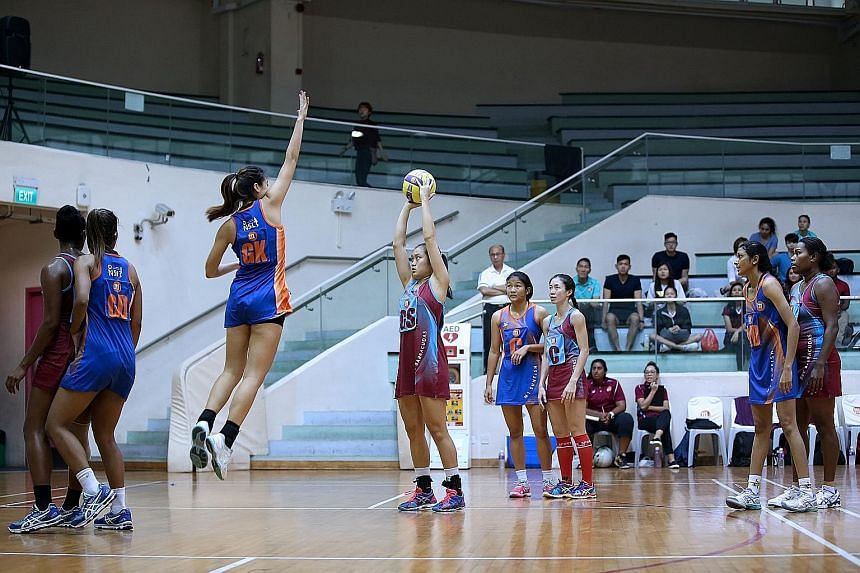 """Goal shooter Toh Kai Wei, 20, will celebrate her 21st birthday the day after the SEA Games final and hopes the gold medal will be the """"best birthday present""""."""