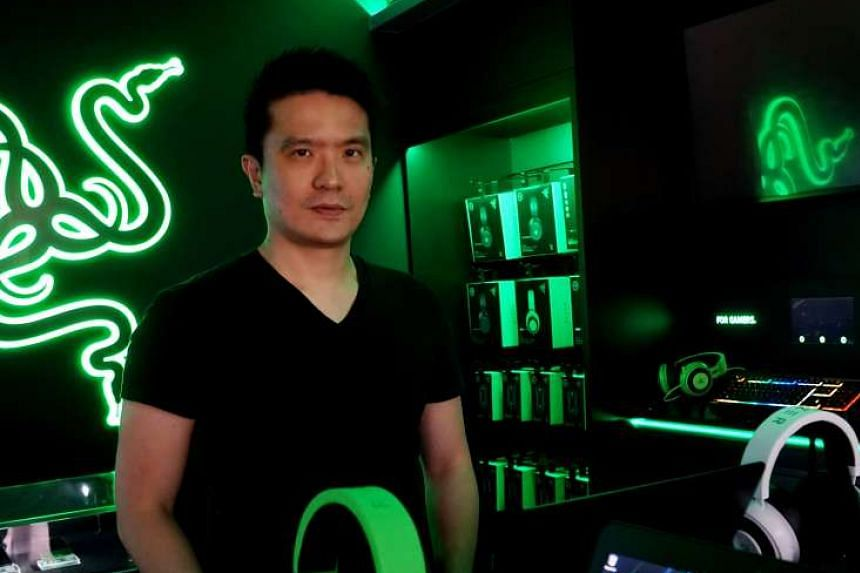 Razer chairman and chief executive Min-Liang Tan. Razer could launch its first mobile device later this year or early next year, it said.