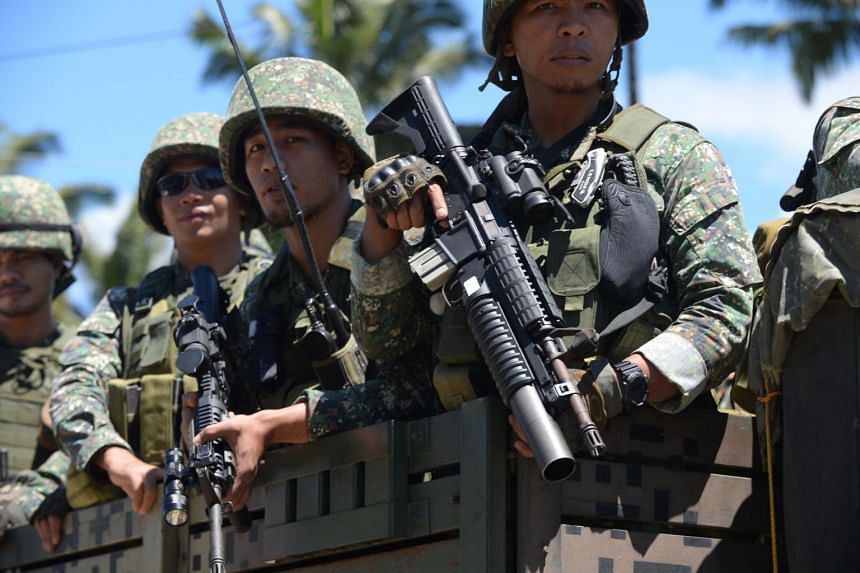 Military forces from the Philippines and Indonesia will begin joint patrols in the Celebes Sea from Thursday, July 6, 2017.