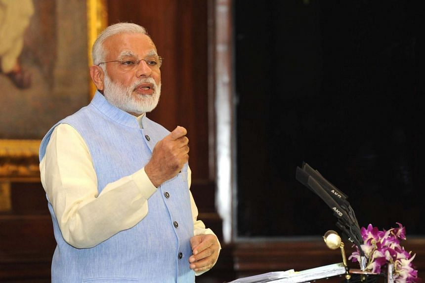 """The licences of more than 100,000 Indian firms had been cancelled after they were found to be """"in violation of laws"""", said PM Narendra Modi."""