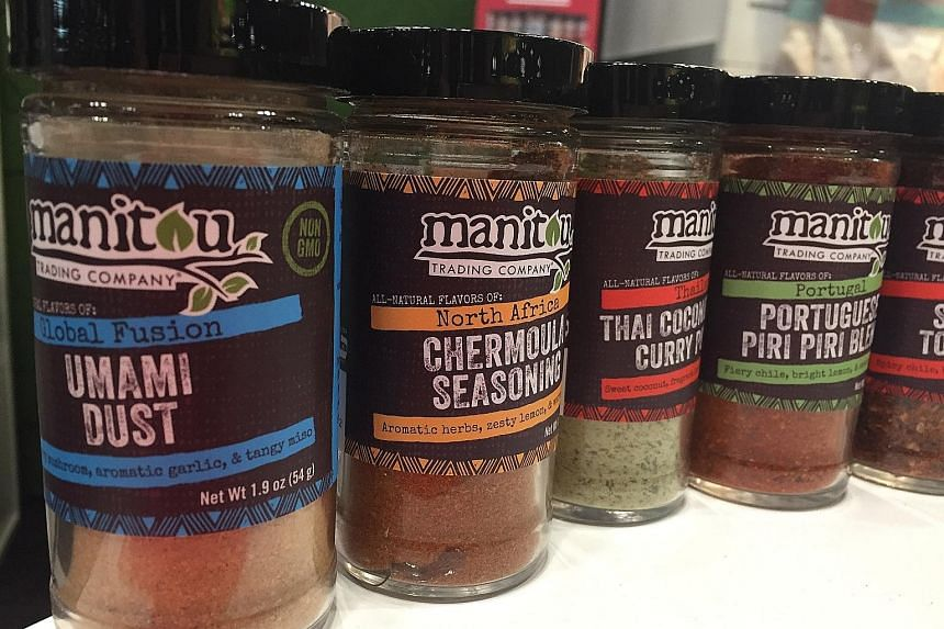 African spices now come bottled with Manitou Trading Company's range of seasoning.