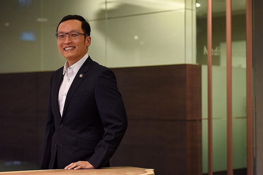Mr Ken Wong, who heads the analytics department at OCBC Bank, mines and analyses millions of bytes of data for trends that could help drive business decisions.