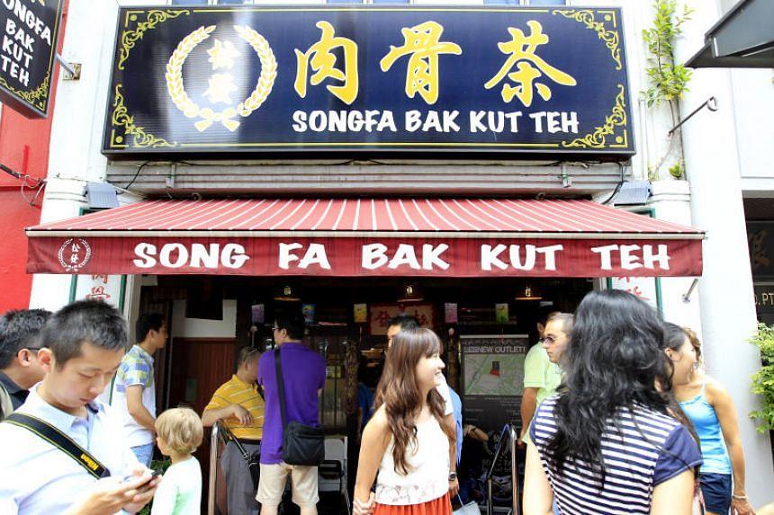 Song Fa Bak Kut Teh at 17 New Bridge Road.