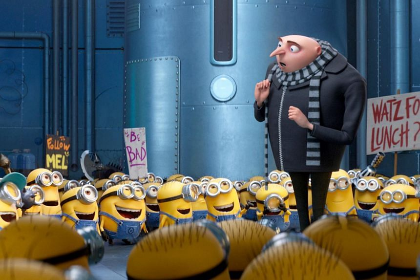 Gru and the Minions return in Despicable Me 3.