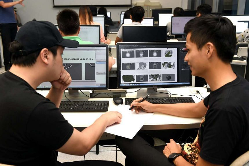 Nanyang Polytechnic's School of Interactive and Digital Media launched a new SkillsFuture Earn and Learn Programme (ELP) in Digital Media Production.