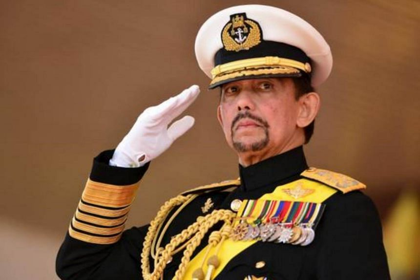 The two-day visit will see Brunei Sultan Hassanal Bolkiah and his wife receiving a ceremonial welcome at the Istana.
