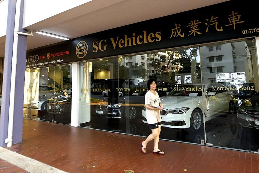 There were 39 complaints against SG Vehicles last year, up from 36 in 2015. There were nine complaints in the first five months of this year. Common complaints were about late delivery of vehicles, persistently unsuccessful bidding for certificates o