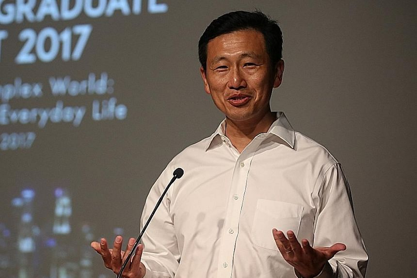 Education Minister (Higher Education and Skills) Ong Ye Kung said that in recent years, Singapore's universities have been putting greater emphasis on fostering an entrepreneurial spirit among their students.