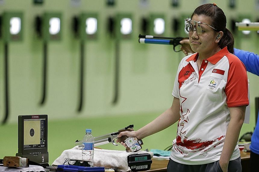 Teo Shun Xie finished third in the 25m pistol selections and fourth in the 10m air pistol trials, failing to qualify for this year's SEA Games.