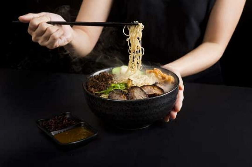 Get a second item at 50% off ala carte dishes from Face-to-Face Noodle House