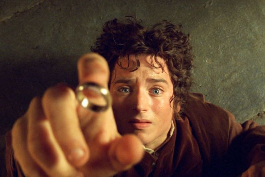 Cinema still from the movie The Lord of the Rings: The Fellowship of the Ring.