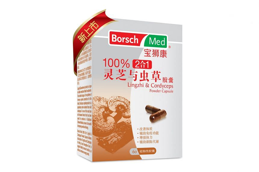Borsch Med two-in-one Lingzhi & Cordyceps.