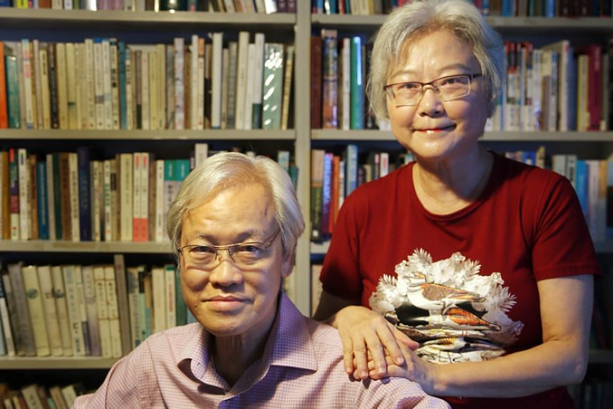 Author Yeng Pway Ngon (above, with his wife Goh Beng Choo) is behind The Non-Existent Lover And Other Stories.