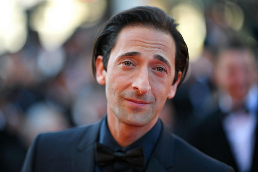 US actor Adrien Brody posing as he arrives on May 28, 2017 for the closing ceremony of the 70th edition of the Cannes Film Festival in Cannes, southern France.