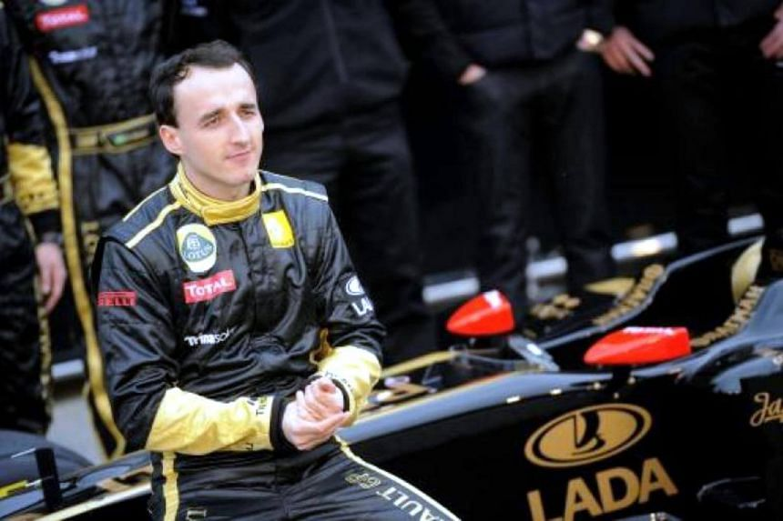 Polish driver Robert Kubic left Formula One in 2011 after a rally accident that left him with a partially severed forearm.