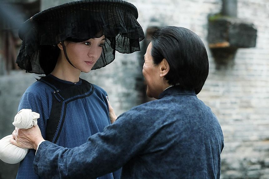 Zhou Xun stars as Fang Lan, a little-known Hong Kong heroine, in Our Time Will Come.