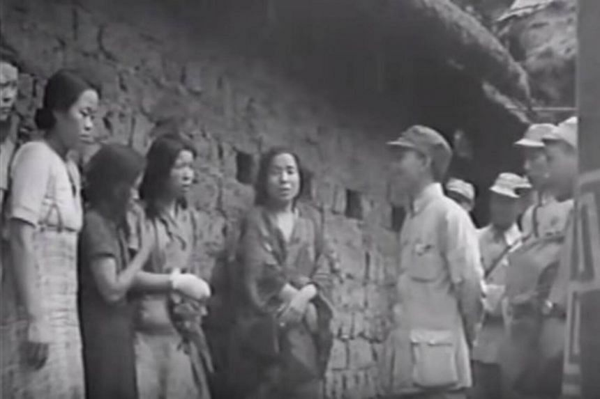Korean women were forced to work in Japanese military brothels during World War II.