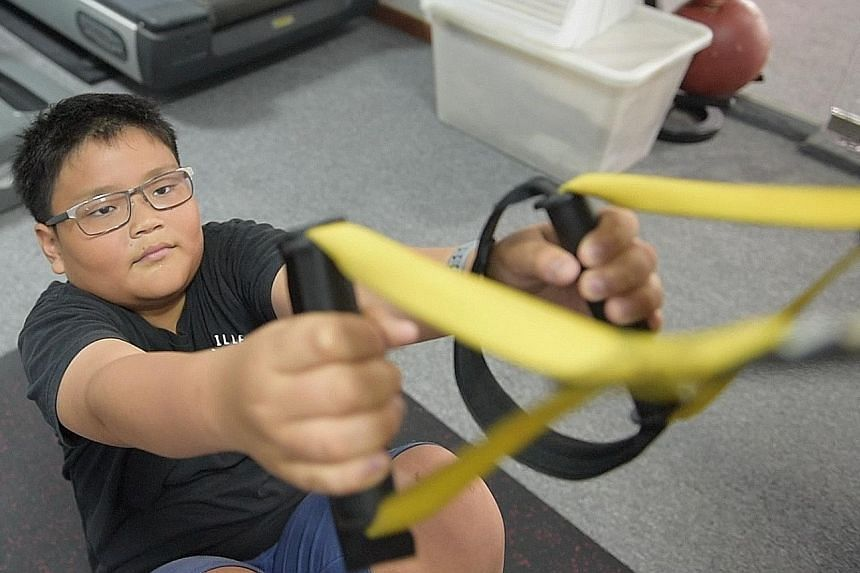 When Matthew Kum, 12, signed up last year, his main goal was to pass the Napfa test in school. Since then, the Secondary 1 student says he has lost weight and is able to focus better in class.