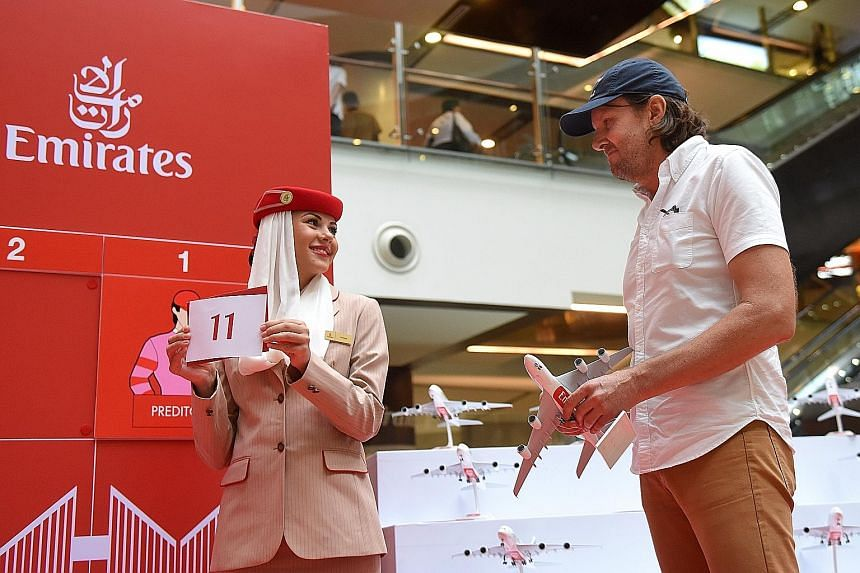 Trainer Michael Clements drawing barrier No. 11 for Alibi at the Singapore Derby 2017 post-position draw. The colt will be seeking to pull off an unprecedented feat by becoming the first horse to win all three legs of the Singapore Four-Year-Old Chal