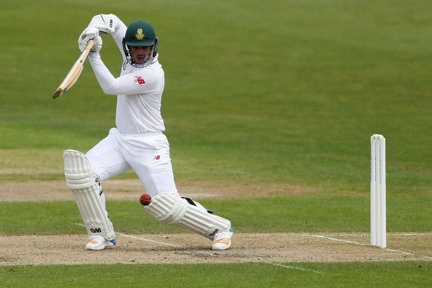 South Africa's Quinton De Kock in action.