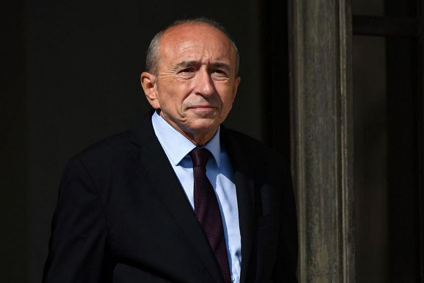 French Interior Minister Gerard Collomb said one of the plots was thwarted in Marseille in April, a week before the presidential elections.