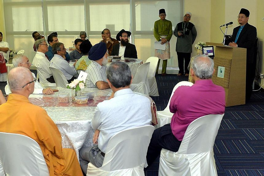 The Interfaith Eid Tea Reception hosted by the Mufti of Singapore, Dr Mohamed Fatris Bakaram.