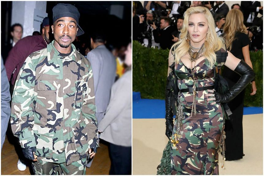 Tupac Shakur and Madonna dated between 1993 and 1994.