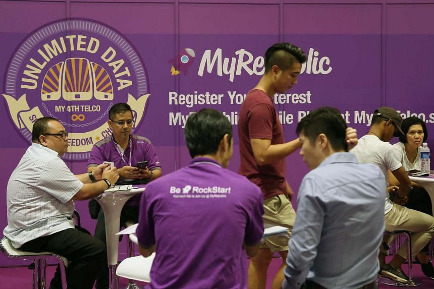 With MyRepublic's entry, Singapore will have six major mobile service providers.